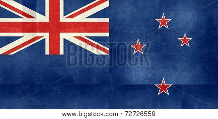 Flag of New Zealand, Paper textured version