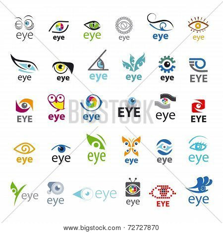 Biggest Collection Of Vector Icons Eye