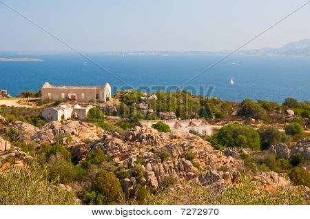 Abandoned Barracks On The Sardinia