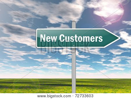 Signpost New Customers