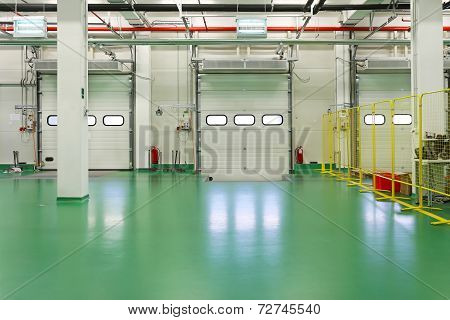 Loading Dock Interior
