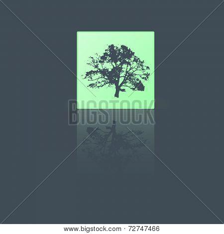 Reflective Tree Sticker.eps
