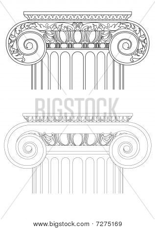 vector classic column
