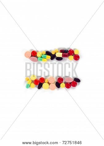 Colorful Drug Symbol