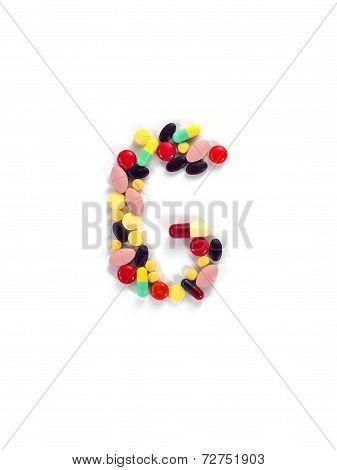 Colorful Drug Alphabet