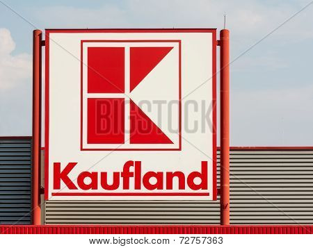 Kaufland Store Sign