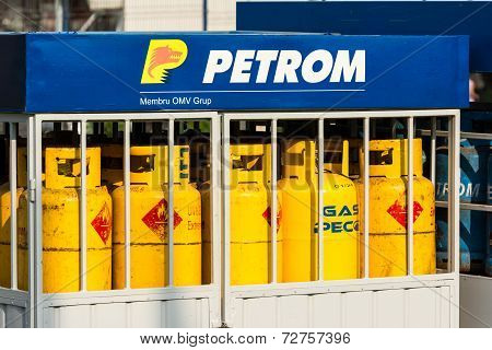 Petrom Gas Tanks