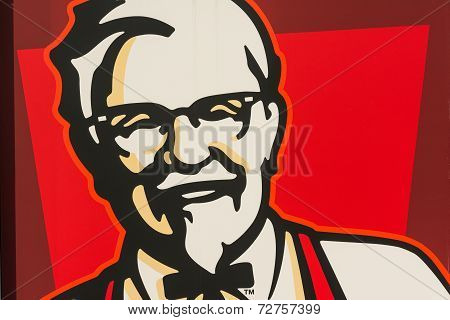Kentucky Fried Chicken Restaurant Sign
