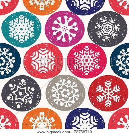 Christmas Flake Pattern