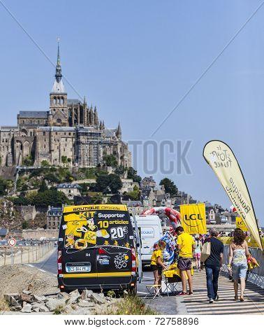 Tour De France Mobile Promotional Boutique
