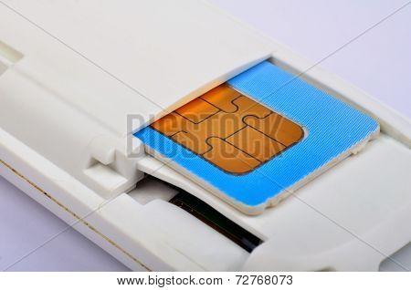 Sim Card In Modem