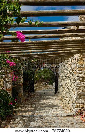 Monastery Profitis Ilias.