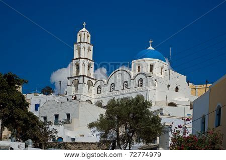 Orthodox Church in Pyrgos.