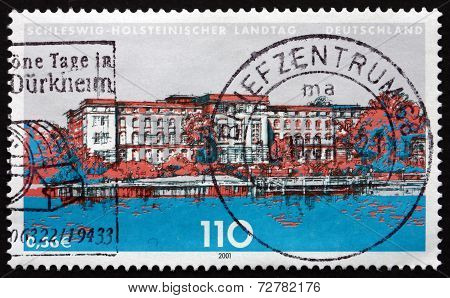 Postage Stamp Germany 2001 State Parliament Of Schleswig-holstei