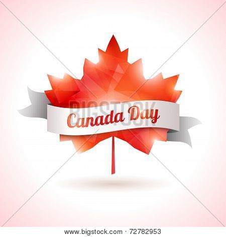 Canada day, vector illustration.