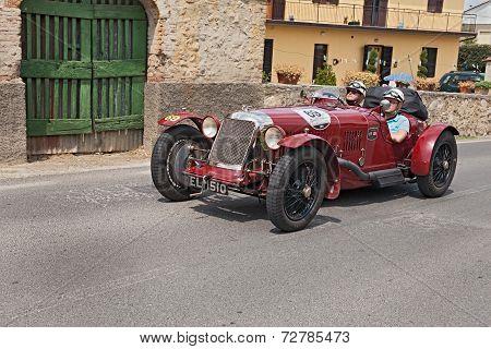 Maserati Tipo 26 M Sport (1930) Runs In Mille Miglia 2014