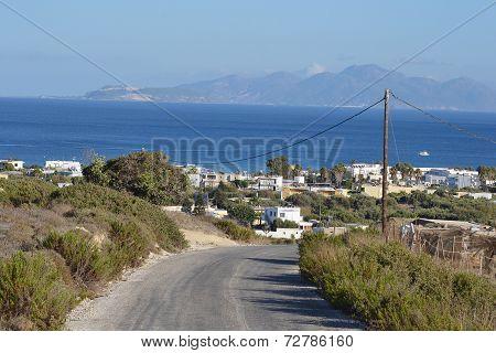Rural Road, Greece.