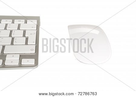 Wireless Computer Keyboard With The English Alphabet And Mouse