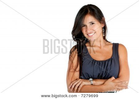 Woman With Arms Crossed