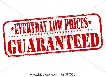 Everyday Low Prices