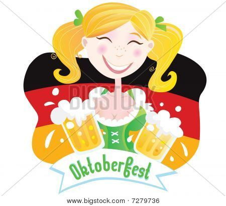 Oktoberfest (Bavarian female)