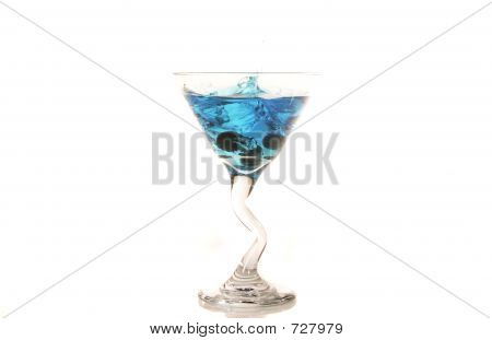 Blueberry Martini Splash