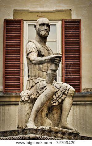 Giovanni delle Bande Nere Statue in Florence