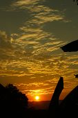 picture of martha  - Sunset in the middle of the Colombian tropics - JPG