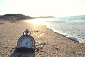 stock photo of pass-time  - time clock photo - JPG