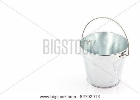 Metal Zinc Bucket .
