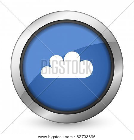 cloud icon weather forecast sign