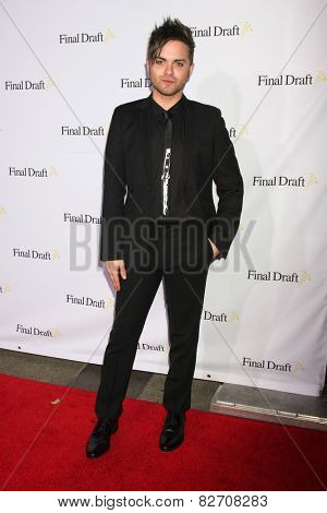 LOS ANGELES - FEB 12:  Thomas Dekker at the 10th annual Final Draft Awards at a Paramount Theater on February 12, 2015 in Los Angeles, CA
