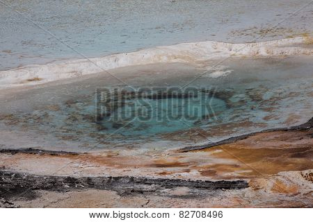 Hot Mineral Pool Close Up