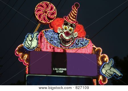 las vegas clown