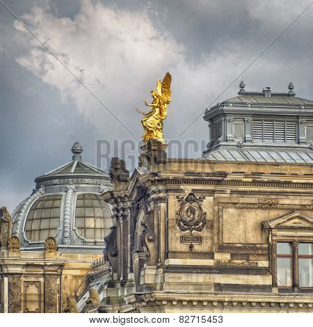 Dresden Academy of Arts roof