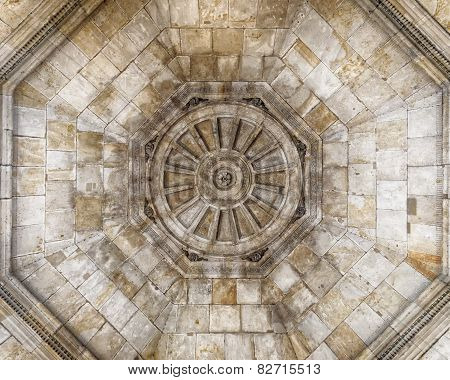 vintage dome ceiling, Dresden Saxony, Germany
