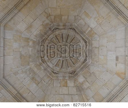 vintage dome ceiling Dresden Germany