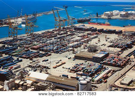 The Port Vell Of Barcelona