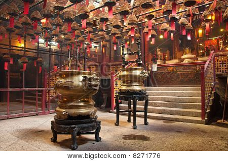 Man Mo Temple, Hong Kong.