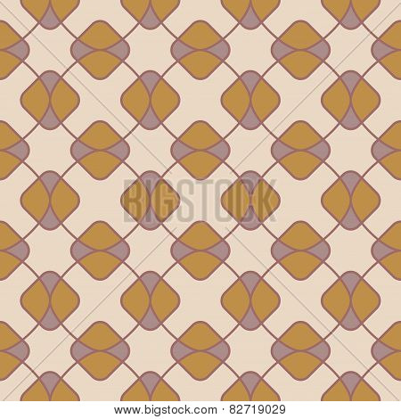 Abstract Geometric Pattern With Rhombus