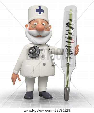 The Doctor With The Thermometer