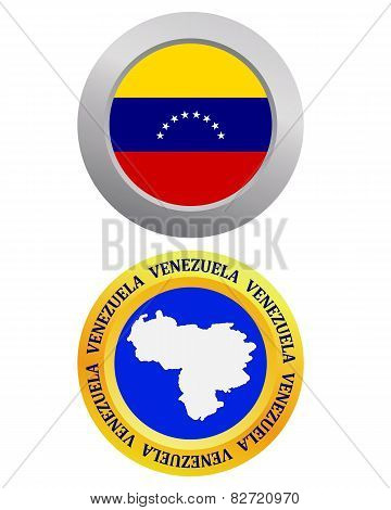 Button As A Symbol  Venezuela