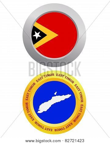 Button As A Symbol East Timor
