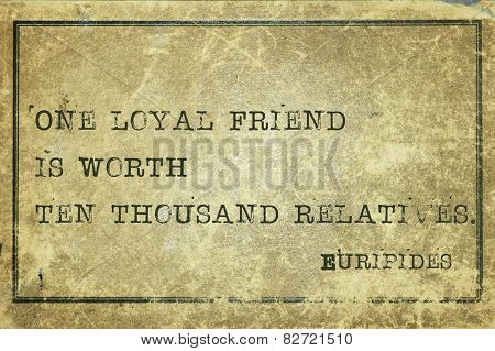 Loyal Friend Print
