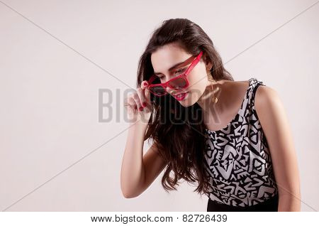 Woman Look For Something