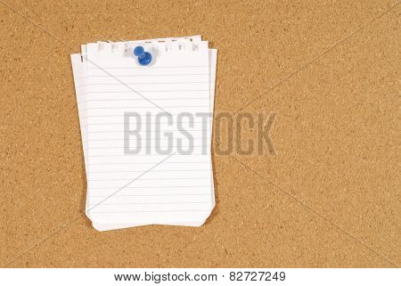 Bulletin Board Note Paper