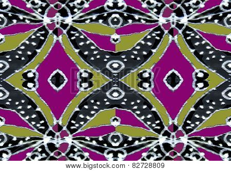 Colorful Decorative Abstract Pattern