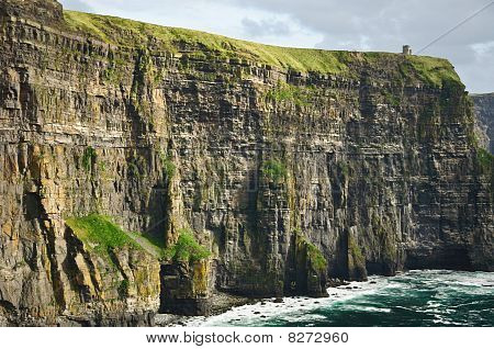 Beautiful Scenic Landscape From The West Coast Ireland