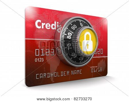 Credit Card Protection (clipping path included)