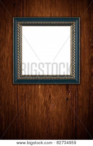 Blue Square Photo Or Painting Frame